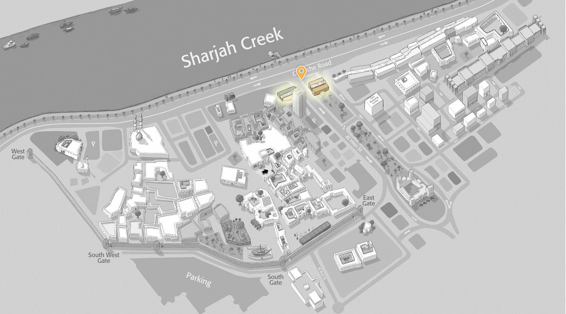 Heart of Sharjah - Souq Al Shanasiyah || قلب الشارقة - سوق